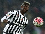 Paul Pogba in action during the Serie A game between Juventus and Inter on February 28, 2016