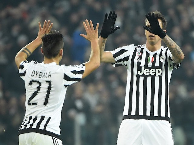 Result: Juventus go six points clear at top