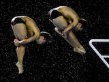 Tom Daley and Daniel Goodfellow in action at the Diving World Cup on February 21, 2016