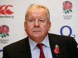 Bill Beaumont pictured at an England presser on November 11, 2015