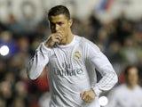 Real Madrid's Cristiano Ronaldo celebrates scoring a goal against Levante on March 2, 2016
