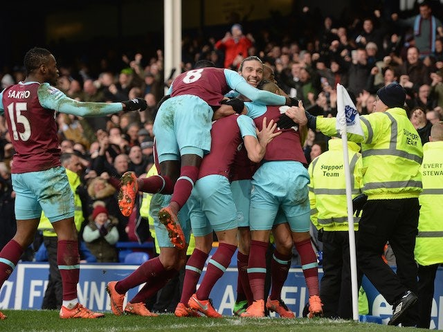 Result: West Ham fight back to down Everton