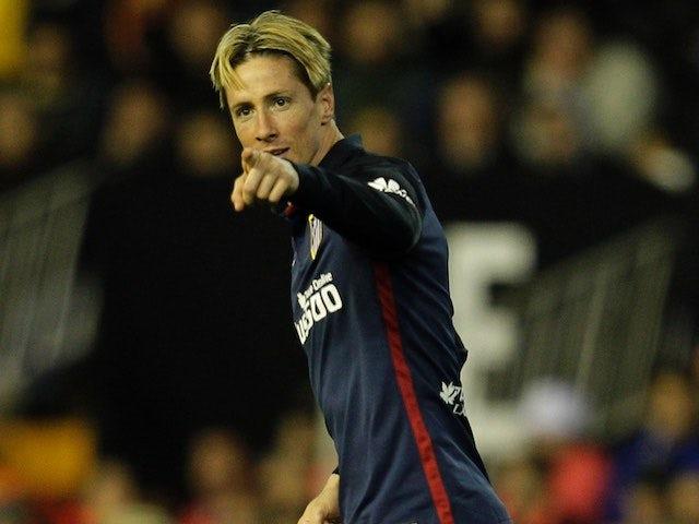 Simeone praises two-goal Fernando Torres
