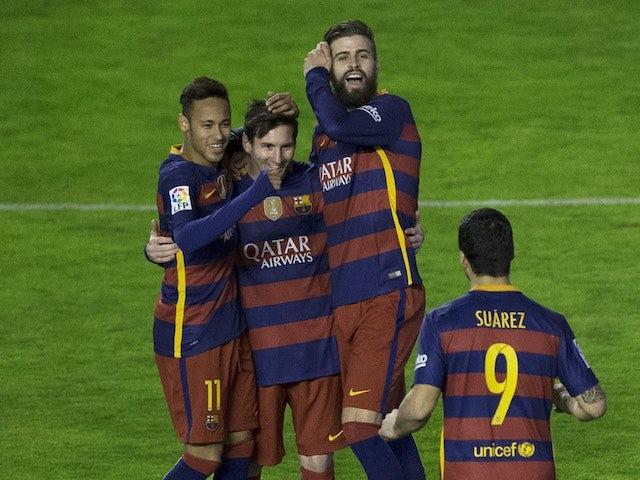Result: Barca set new unbeaten Spanish record