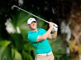Rory McIlroy in action during the third round of the WGC-Cadillac Championship on March 5, 2016