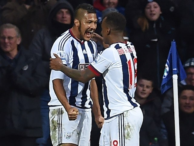 Result: West Brom oust 10-man United