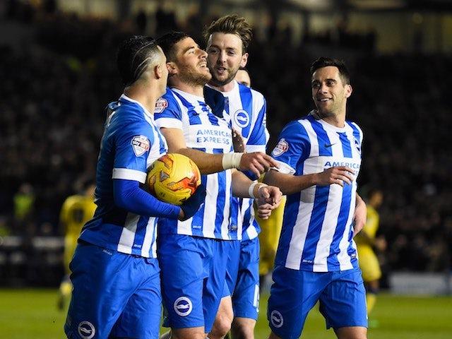 Result: Tomer Hemed fires Brighton top