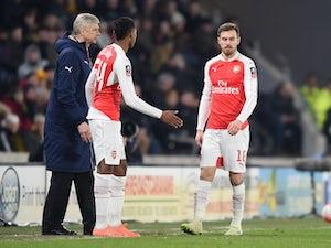 Team News: Aaron Ramsey returns for Arsenal