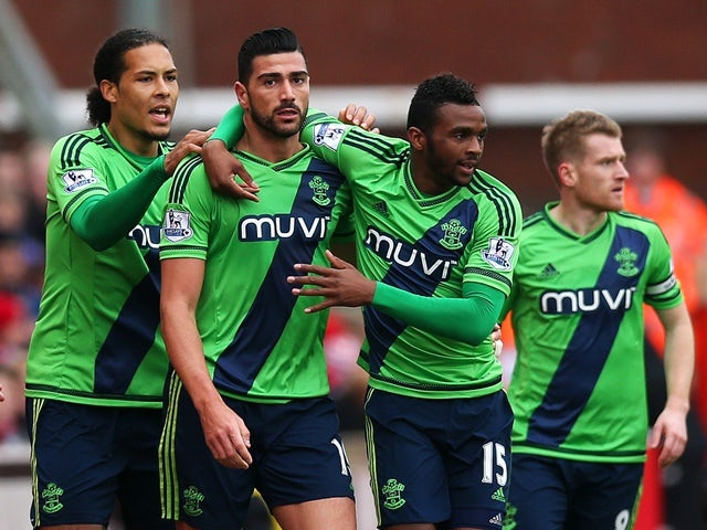 Result: Saints hold on to end Stoke's unbeaten run