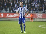 Gustav Engvall after the match between IFK Goteborg and Kalmar FF at Gamla Ullevi on October 31, 2015