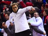 Jurgen Klopp is young, free and single during the Europa League game between Liverpool and Manchester United on March 10, 2016