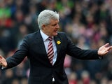 Mark Hughes simply doesn't understand in the Premier League match between Stoke City and Southampton on March 12, 2016