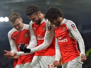 Arsenal storm into FA Cup quarters