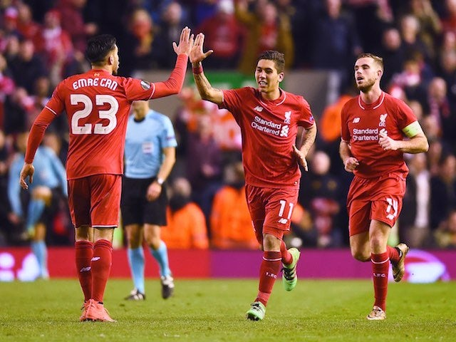 Result: Liverpool take control against Man Utd