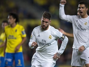 Ten-man Real Madrid beat Las Palmas