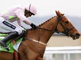 Ruby Walsh riding Annie Power clear the last to win the Stan James Champion Hurdle Challenge trophy at Cheltenham on March 15, 2016