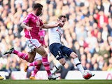 Harry Kane scores for Tottenham Hotspur against Bournemouth on March 20, 2016