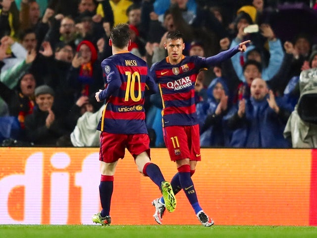 Result: Barcelona through to CL last eight
