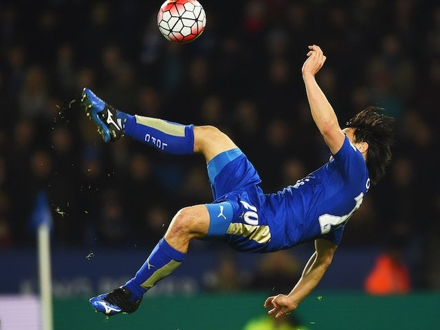 Result: Okazaki strike earns Leicester victory