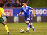 Bobby Wood of the United States controls the ball on November 13, 2014