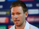 Eoin Morgan at an England press conference on March 22, 2016