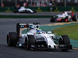 Felipe Massa drives for Williams during the Australian Formula 1 Grand Prix at Albert Park on March 20, 2016