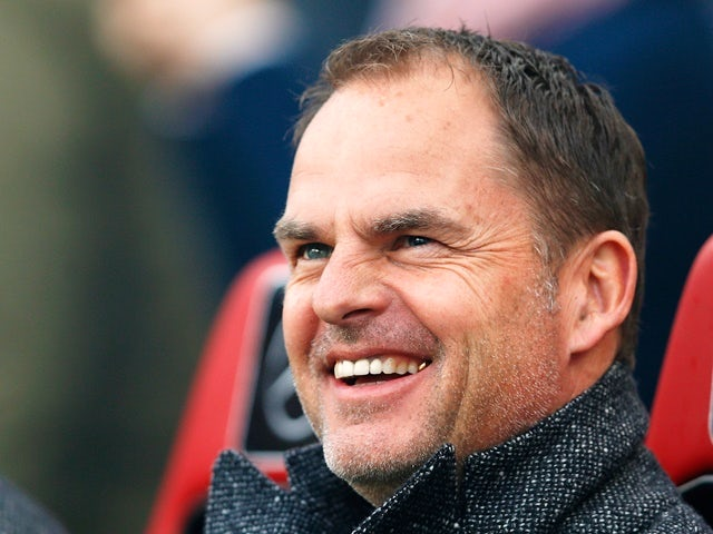 Ajax head coach Frank de Boer looks on prior to the Eredivisie match against PSV Eindhoven on March 20, 2016