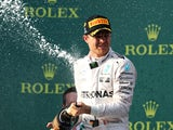 Nico Rosberg disintegrates after winning the Australian Grand Prix on March 20, 2016