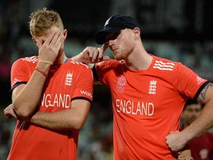England fall five short of India total