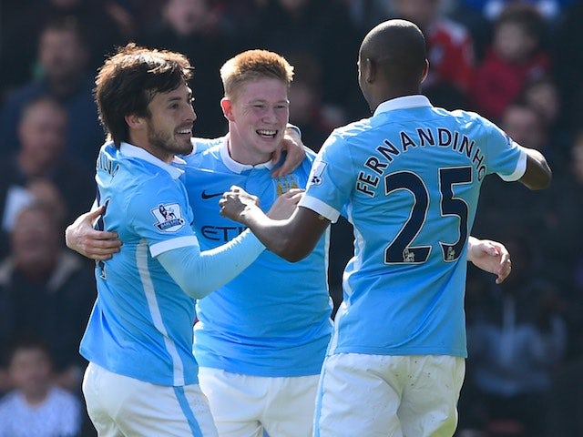 Result: Man City ease to victory at Bournemouth