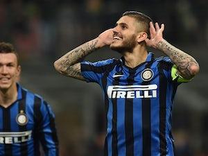 Inter move top with win over Cagliari