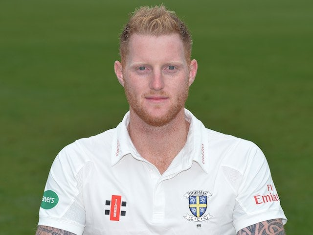 Ben Stokes at a Durham CCC photo call on April 8, 2016
