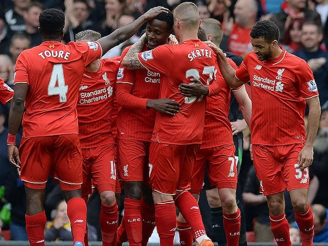Result: Liverpool put four past Stoke