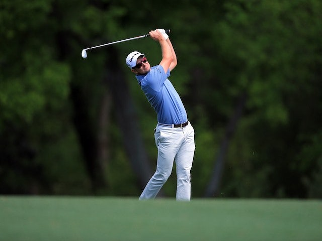 Justin Rose in action during the first round of The Masters on April 7, 2016