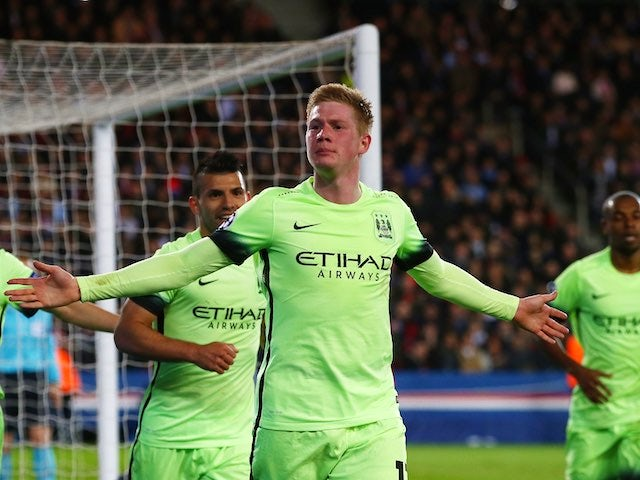 Result: Man City hold PSG to draw