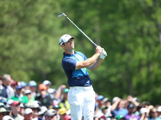 Paul Casey in action during the first round of The Masters on April 7, 2016