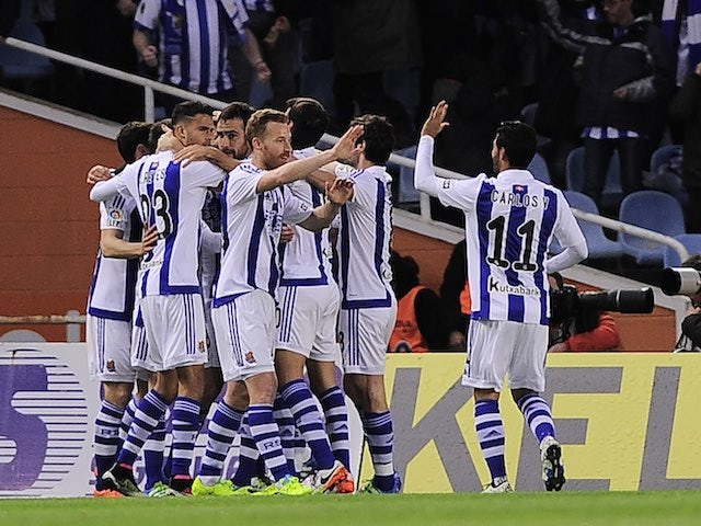 Result: Barca slip up at Anoeta to blow title race open
