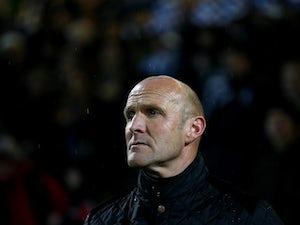 Chester sack manager Steve Burr