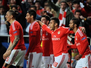 Benfica claim first-leg win over Dortmund