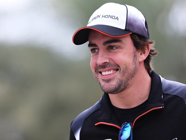 Fernando Alonso of McLaren-Honda during previews ahead of the Bahrain Formula One Grand Prix at Bahrain International Circuit on March 31, 2016