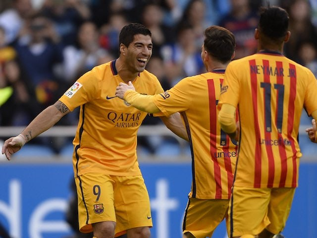 Result: Barcelona put eight past Deportivo