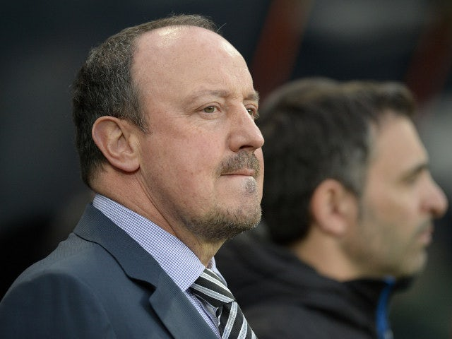 Benitez admits Newcastle 'lack confidence'