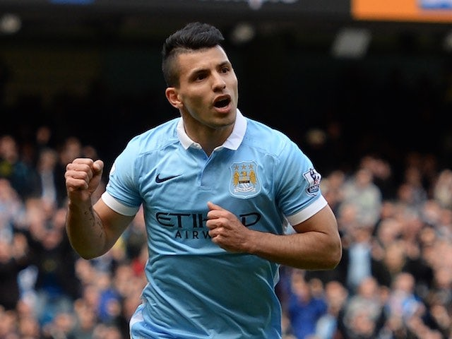 Result: Aguero hat-trick gives City winning start