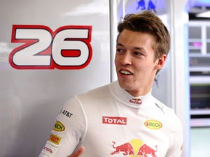 Daniil Kvyat of Red Bull Racing gets ready in the garage during practice for the Formula One Grand Prix of Russia at Sochi Autodrom on April 29, 2016