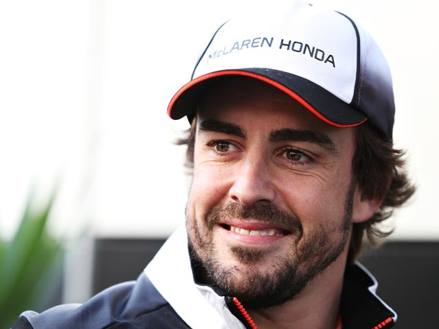 Fernando Alonso of McLaren Honda in the paddock during previews ahead of the Formula One Grand Prix of Russia at Sochi Autodrom on April 28, 2016