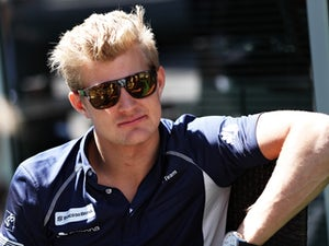 Marcus Ericsson of Sauber in the paddock during previews ahead of the Formula One Grand Prix of Russia at Sochi Autodrom on April 28, 2016