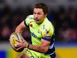 Chris Cusiter in action for Sale Sharks at Kingsholm on December 4, 2015