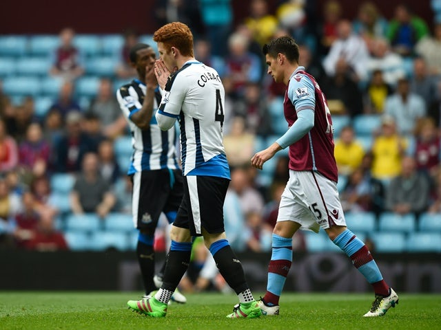 Result: Newcastle into drop zone after draw with Villa