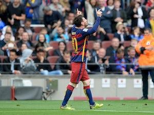 Barca thump Espanyol to retain first spot