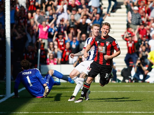 Result: Ritchie rescues draw for Bournemouth